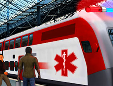 Railway Medical Ambulance in India