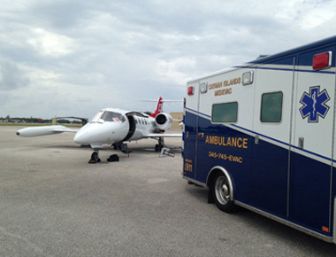 international air ambulance services