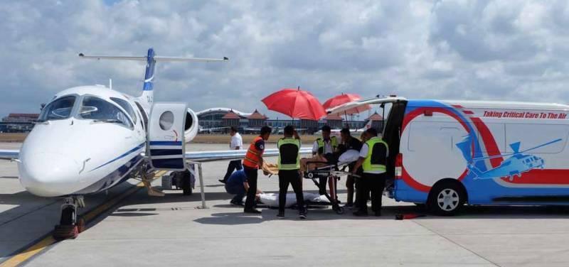 air ambulance services in Dubai